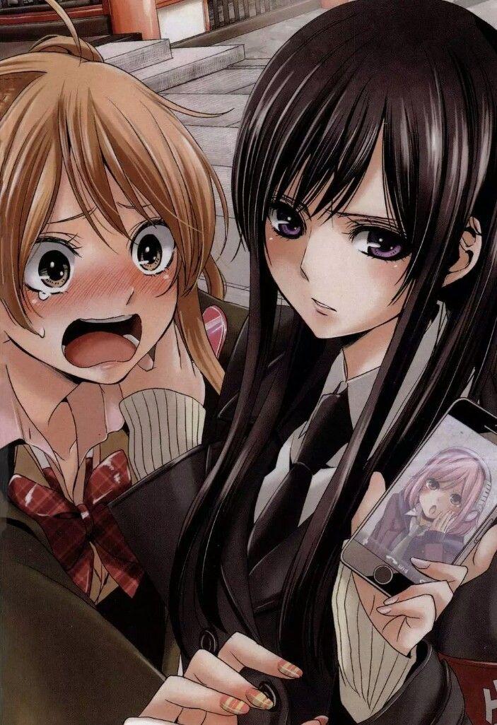 Картинки с аниме подругами   лучшие арты (2)