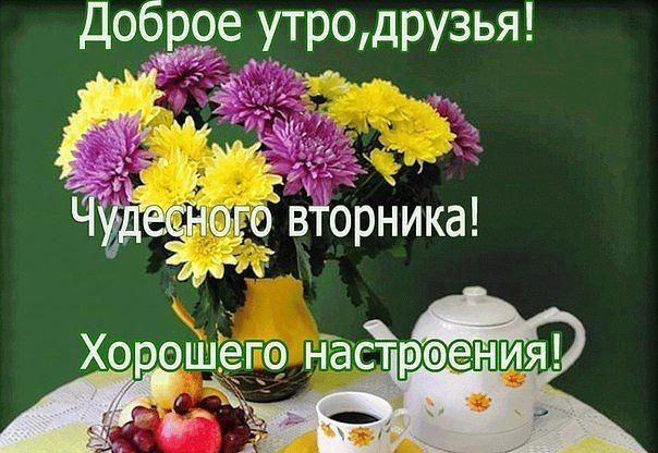 Картинки с добрым утром во вторник - подборка (1)