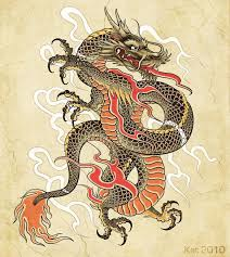 Картинки тату Китайский Дракон - подборка фото (1)