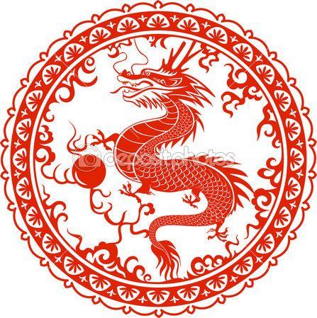 Картинки тату Китайский Дракон - подборка фото (24)