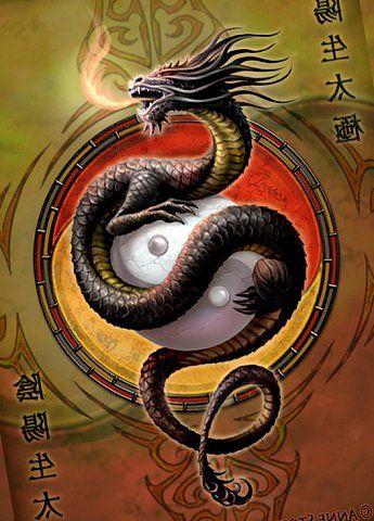 Картинки тату Китайский Дракон - подборка фото (5)