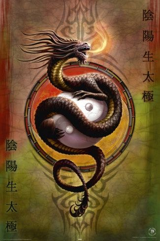 Картинки тату Китайский Дракон - подборка фото (7)