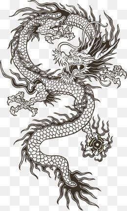 Картинки тату Китайский Дракон - подборка фото (8)