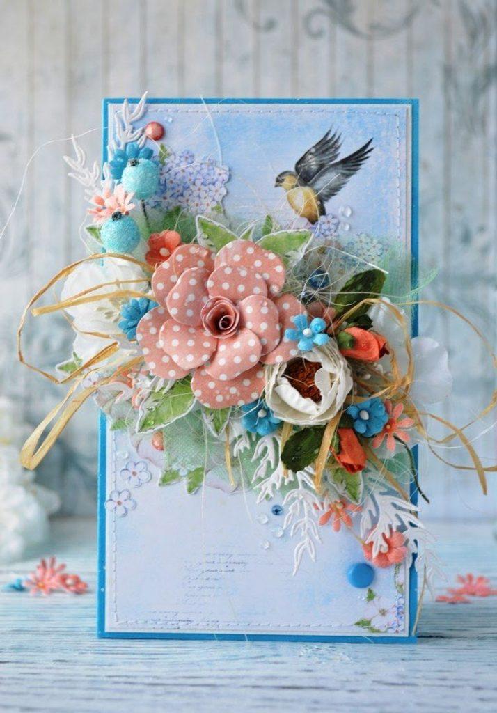 Квиллинг открытки свадебные - красивые фото (14)