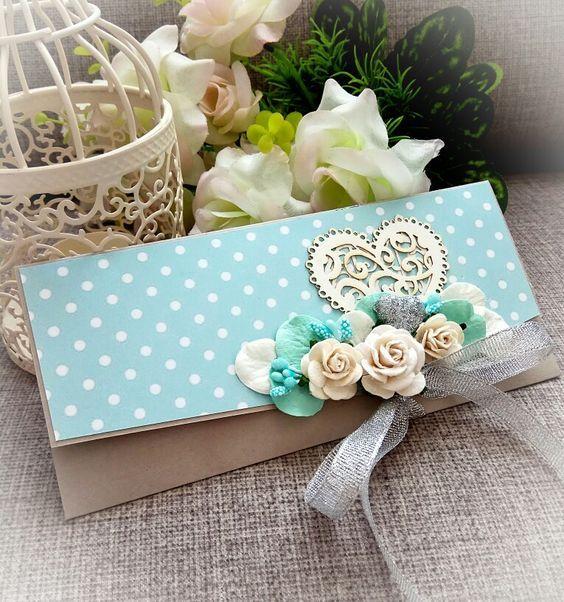 Квиллинг открытки свадебные - красивые фото (17)