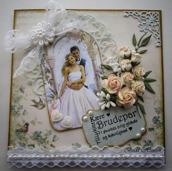 Квиллинг открытки свадебные - красивые фото (21)
