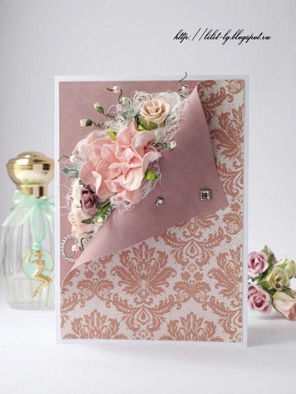 Квиллинг открытки свадебные - красивые фото (22)