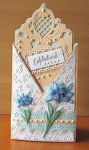 Квиллинг открытки свадебные - красивые фото (23)