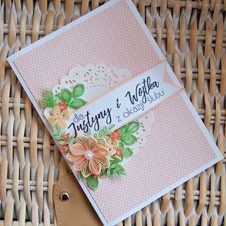 Квиллинг открытки свадебные - красивые фото (8)