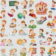 Клипарт животные для детей на прозрачном фоне (7)