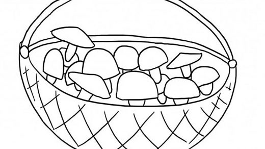 Корзинки картинки нарисованные   сборка (23)