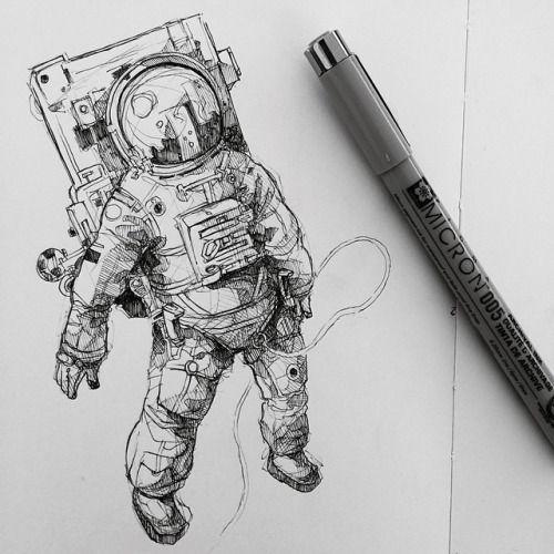 Космос графика тату - картинки (10)
