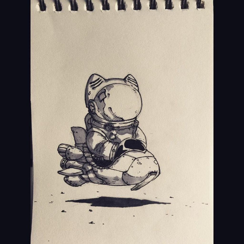 Космос графика тату - картинки (20)