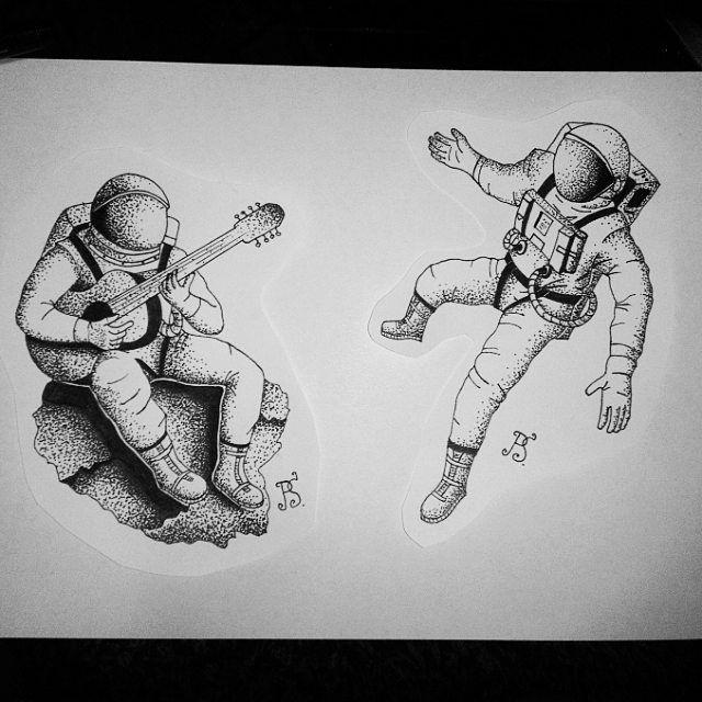 Космос графика тату - картинки (4)
