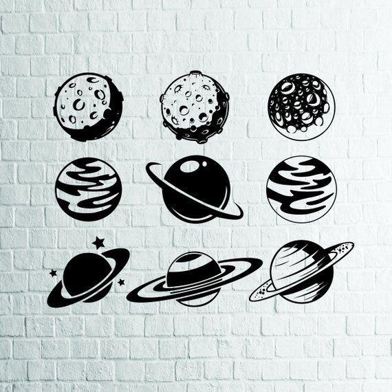 Космос графика тату - картинки (5)
