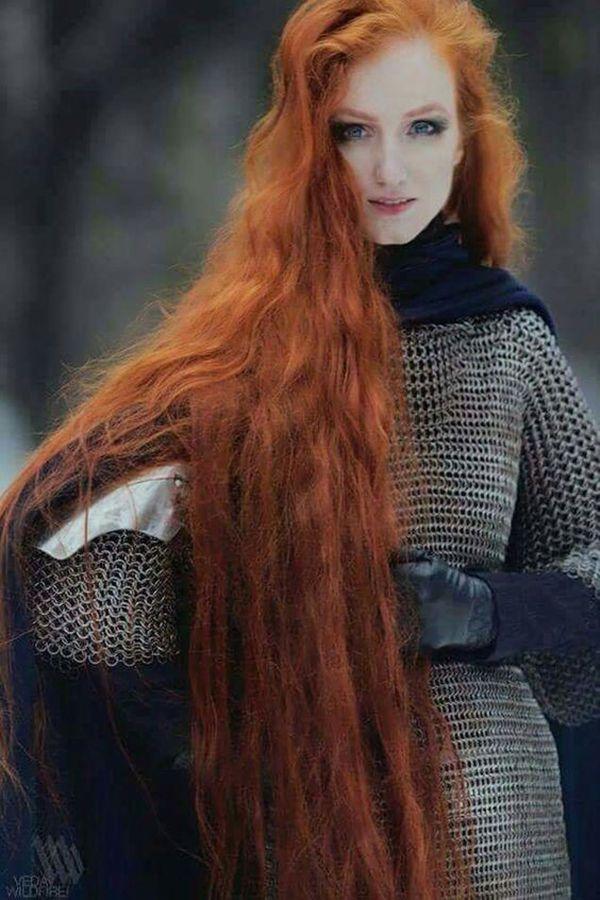 Косплей девушки рыжие - фотографии (13)
