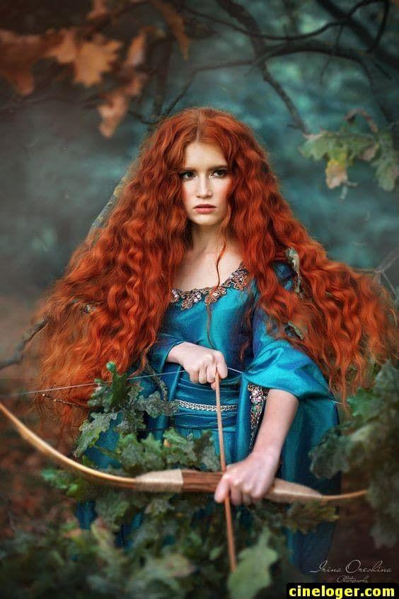 Косплей девушки рыжие - фотографии (16)