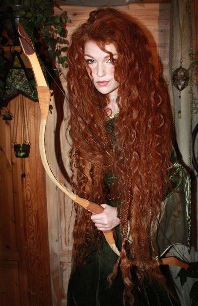 Косплей девушки рыжие - фотографии (24)