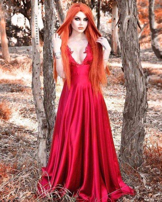 Косплей девушки рыжие - фотографии (8)