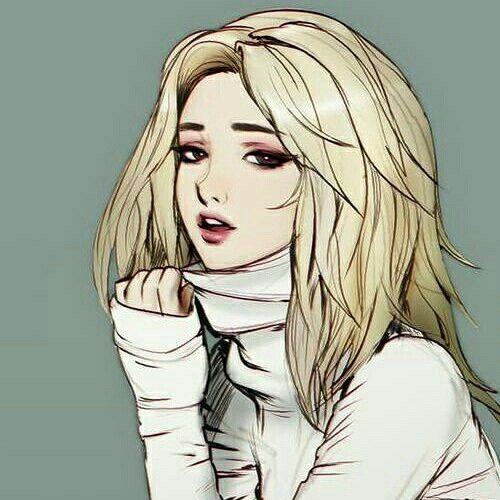 Красивые арты девушек нарисованные - подборка (10)