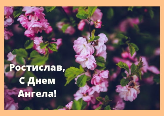 Красивые картинки на именины Ростислава с днём ангела (12)