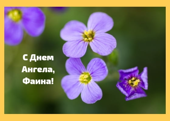 Красивые картинки на именины Фаины с днём ангела (12)
