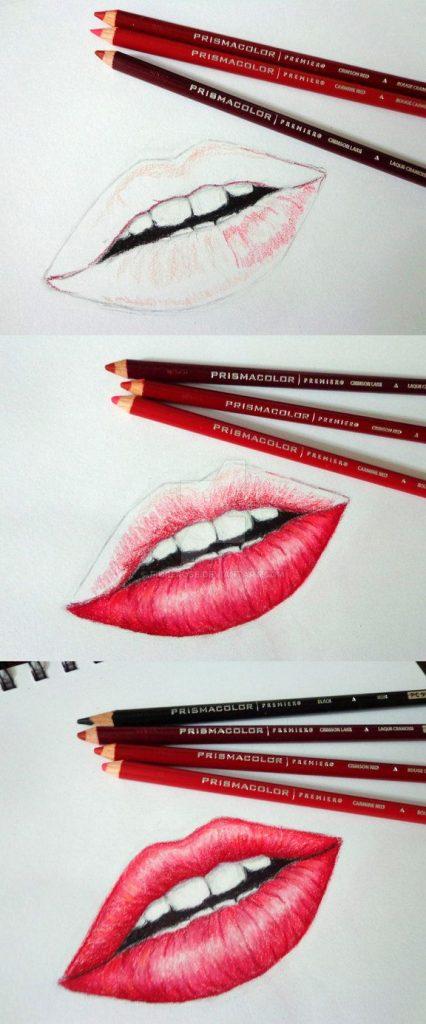 Красивые рисунки цветным карандашом - подборка (1)