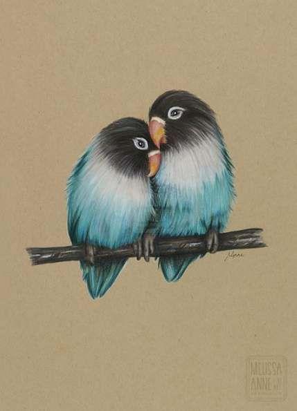 Красивые рисунки цветным карандашом - подборка (28)