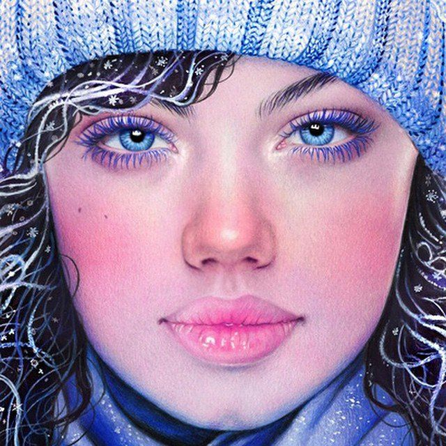 Красивые рисунки цветным карандашом - подборка (4)