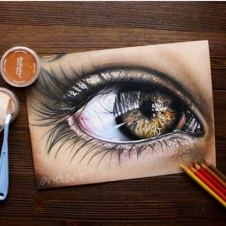 Красивые рисунки цветным карандашом - подборка (5)