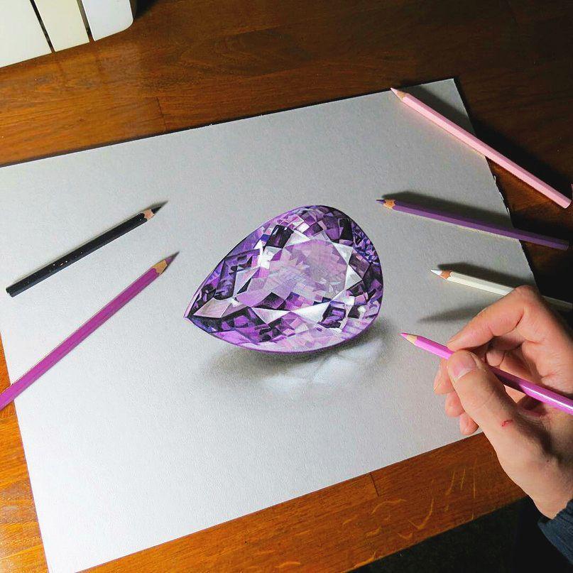Красивые рисунки цветным карандашом - подборка (6)