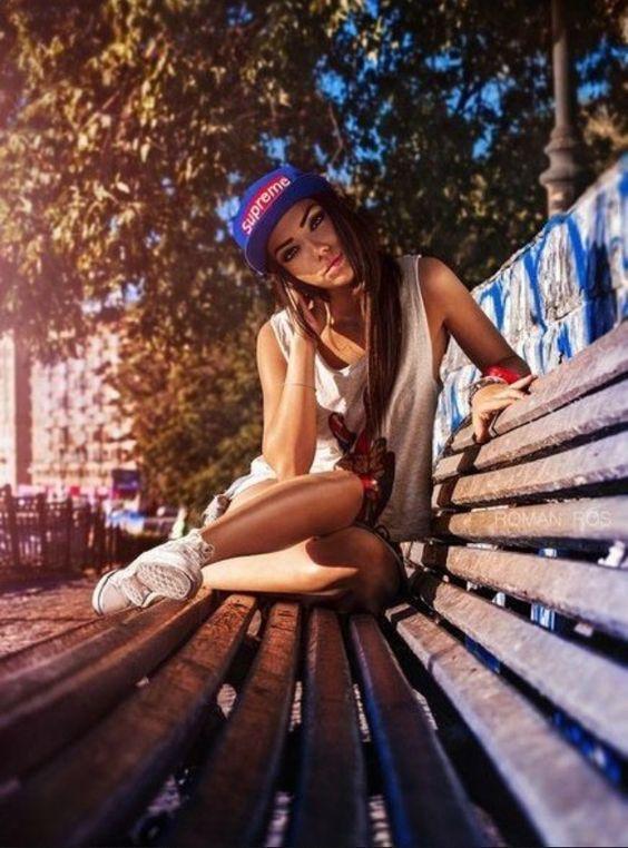 Красивые фотосессии на улице для девушек - фото (1)