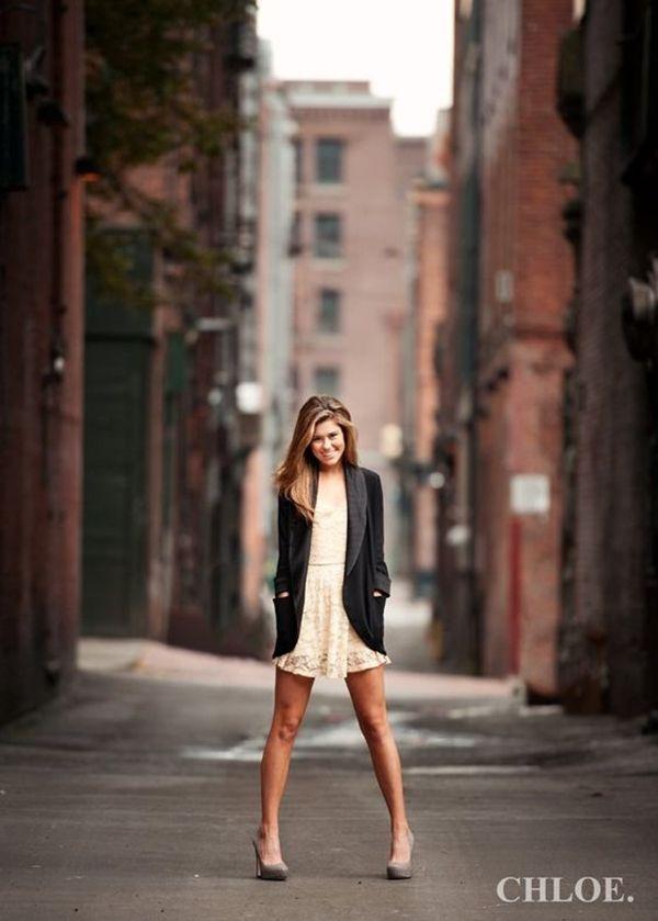 Красивые фотосессии на улице для девушек - фото (13)