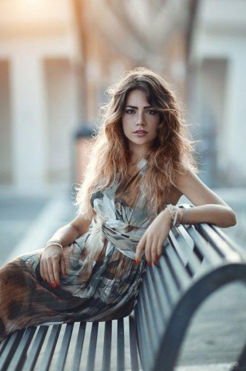 Красивые фотосессии на улице для девушек - фото (14)