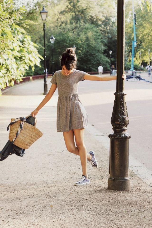 Красивые фотосессии на улице для девушек - фото (20)