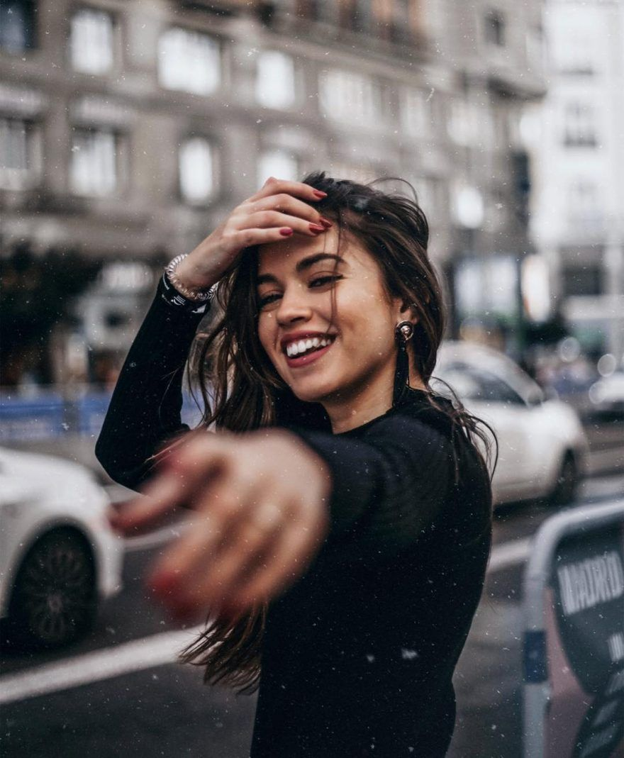 Красивые фотосессии на улице для девушек   фото (21)
