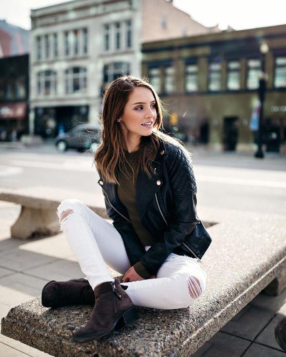 Красивые фотосессии на улице для девушек - фото (5)