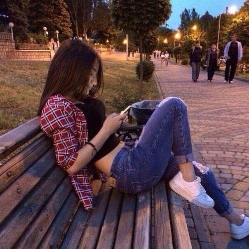 Красивые фотосессии на улице для девушек - фото (6)