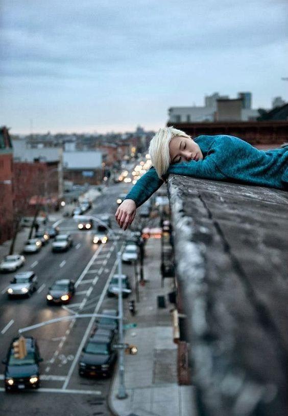 Красивые фотосессии на улице для девушек - фото (8)