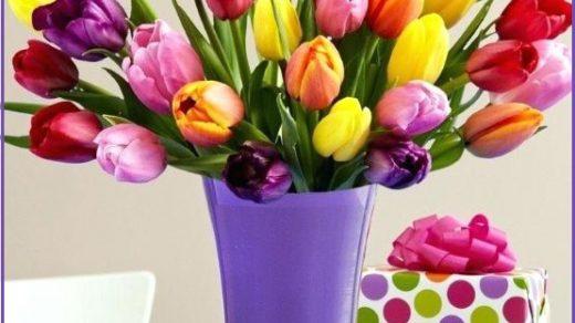 Красивый букет цветов фото и картинки с днем рождения (4)