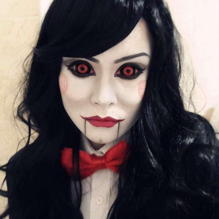 Кровавая Мэри макияж на Хэллоуин (1)