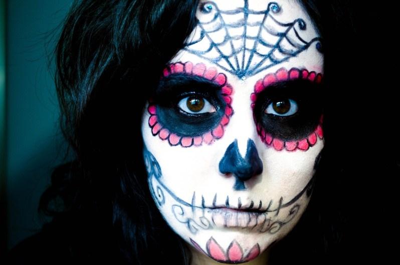 Кровавая Мэри макияж на Хэллоуин (15)