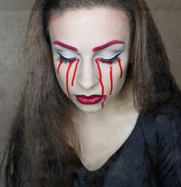 Кровавая Мэри макияж на Хэллоуин (17)