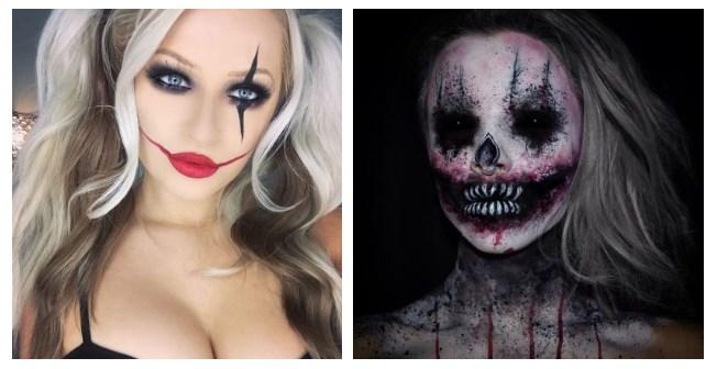 Кровавая Мэри макияж на Хэллоуин (18)