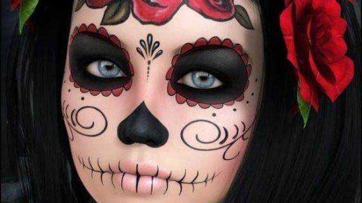 Кровавая Мэри макияж на Хэллоуин (19)