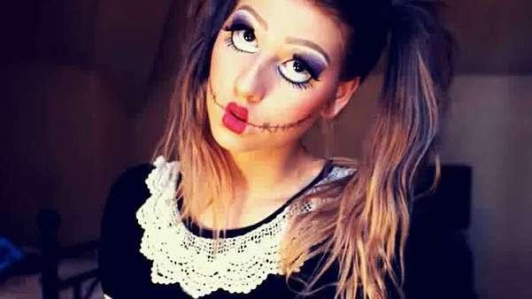 Кровавая Мэри макияж на Хэллоуин (3)