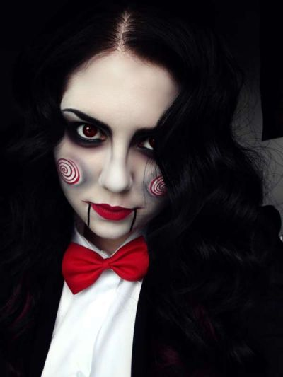 Кровавая Мэри макияж на Хэллоуин (5)