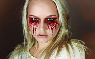 Кровавая Мэри макияж на Хэллоуин (6)
