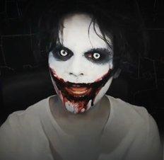 Кровавая Мэри макияж на Хэллоуин (9)