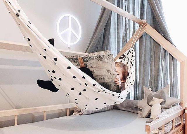Кровать гамак фото - подборка (24)